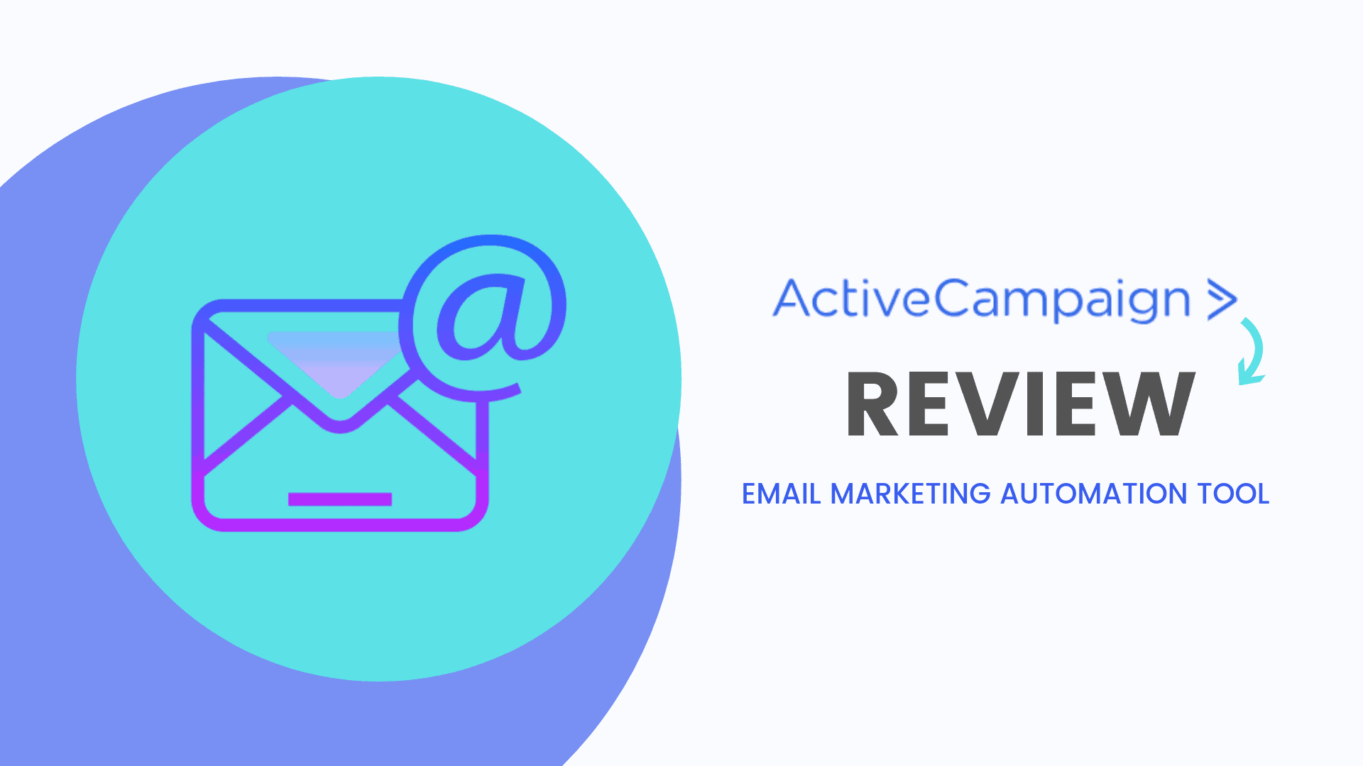 Review Youtube 2020 Email Marketing Active Campaign