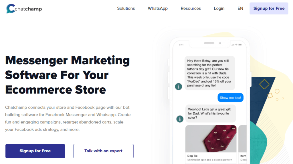 ChatChamp-messenger-bot-tool