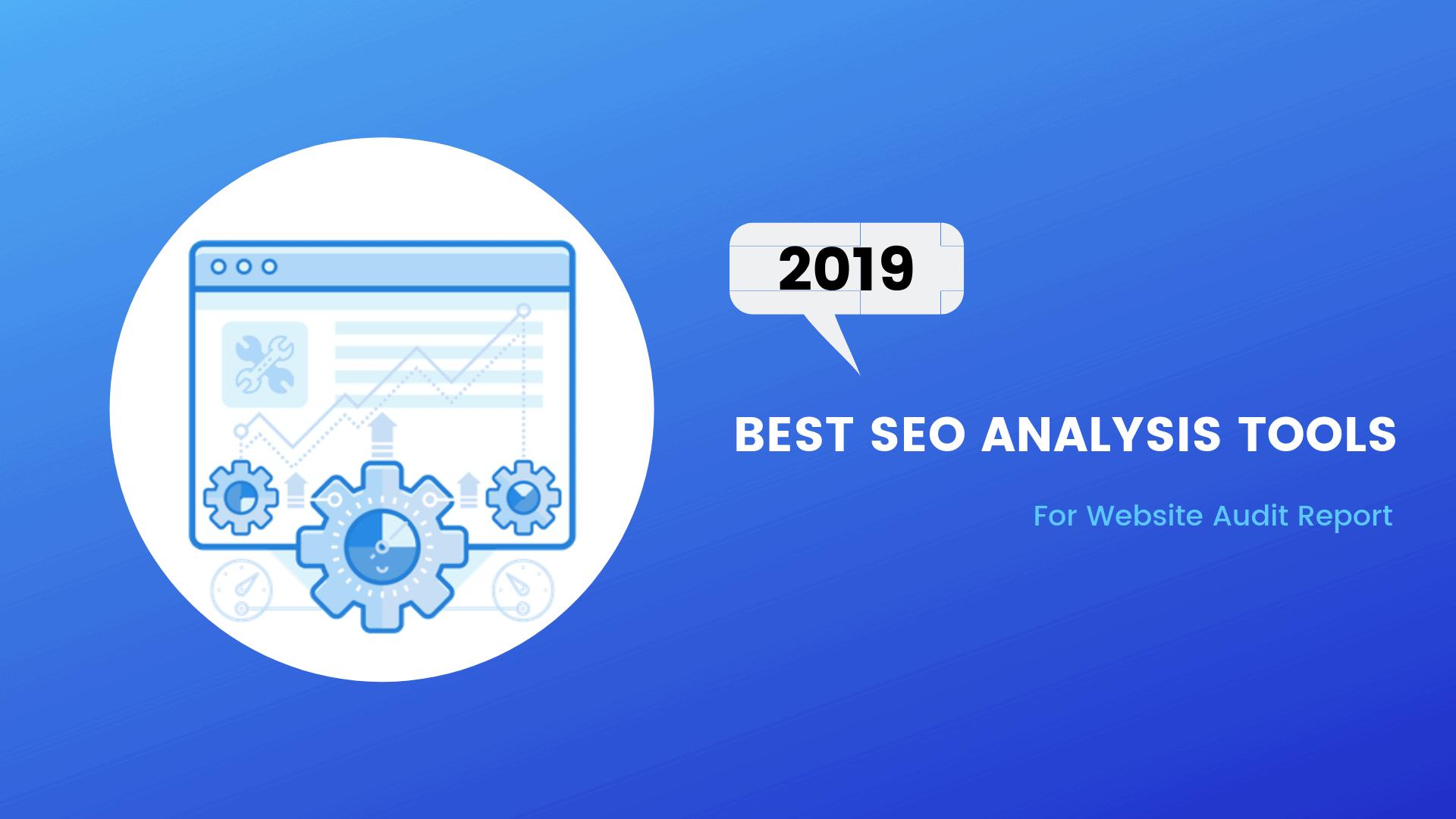 Best SEO Analysis Tools