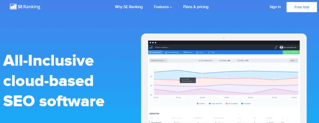 SE Ranking-SEO-Analysis-Tool