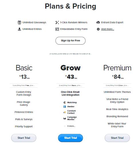 rafflecopter-pricing