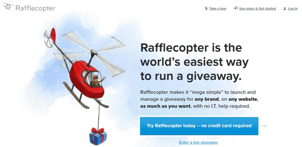 rafflecopter-social-media-contest-tools