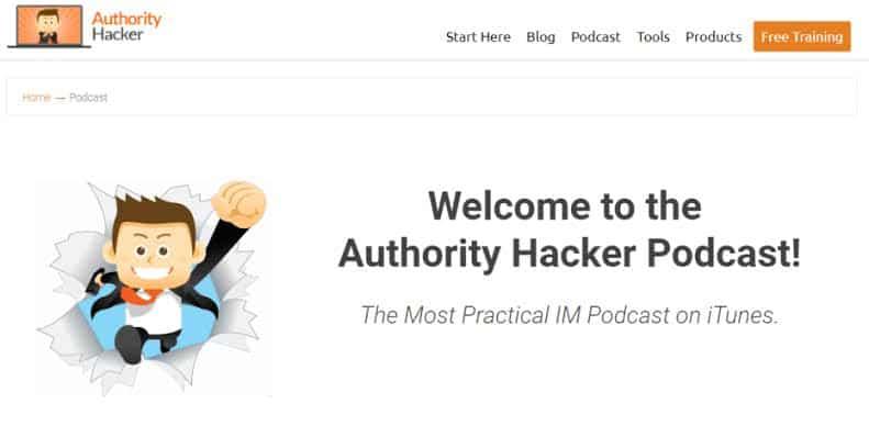 Authority Hacker podcast