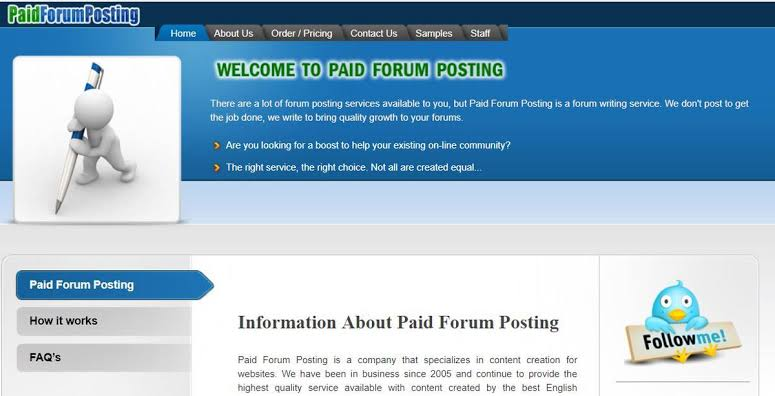 forum-posting