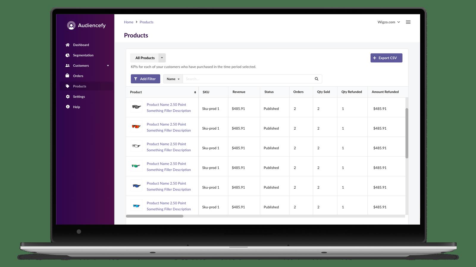 Audiencefy Review: Best eCommerce Analytics App 4
