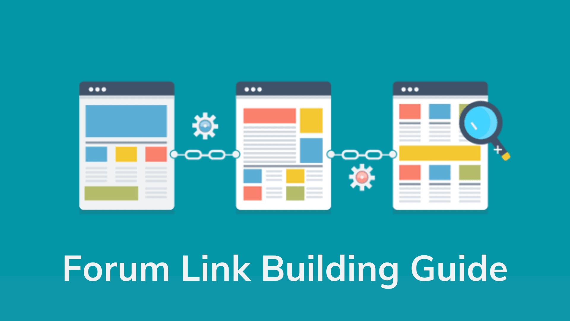 forum-link-building-guide