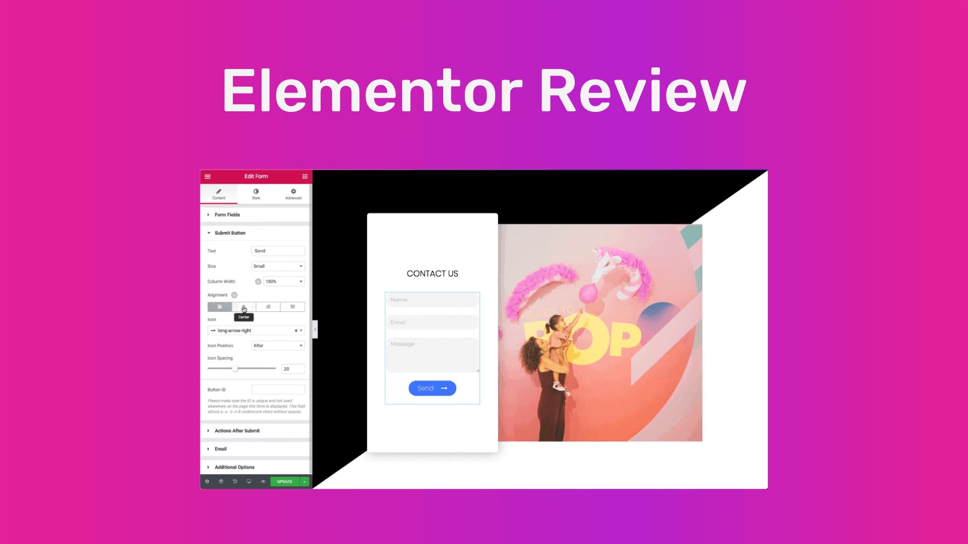 Elementor Review - The Best Drag & Drop Builder For WordPress