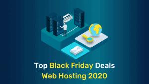Top 5 Best Black Friday Web Hosting Deals for 2020