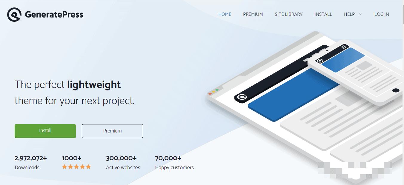 generate-press-homepage