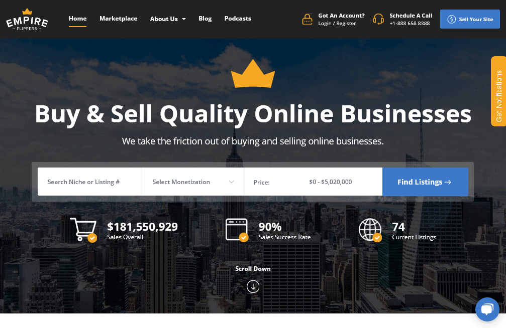 Empire_Flippers_Website_Brokers_Vetted_Marketplace