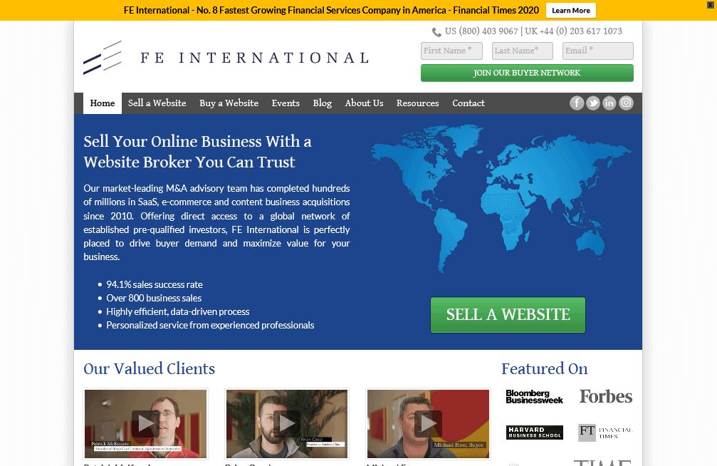 FE_International_Professional_Website_Broker