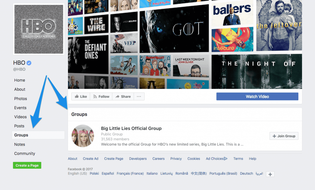 hbo-facebook-page-group