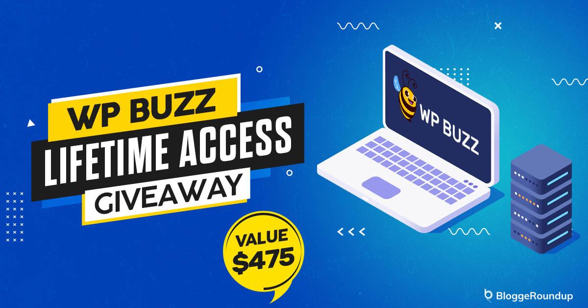 WPBuzz giveaway
