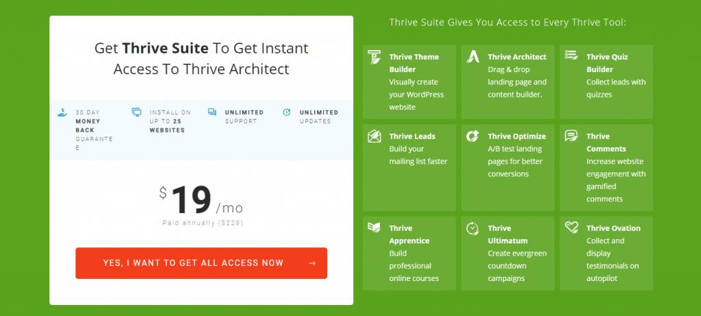 Thrive-Architect-Pricing