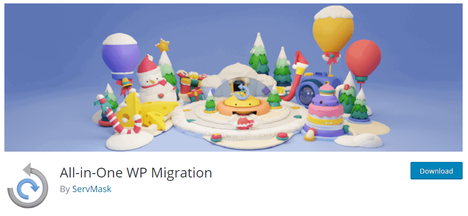 All-in-on-WP-migration
