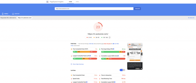 pagespeed-report