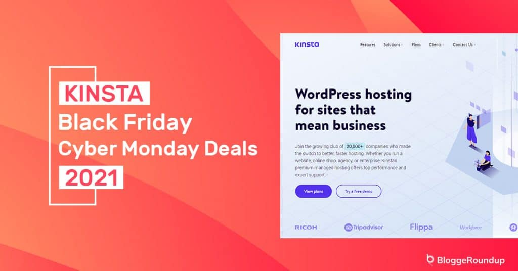 Kinsta Black Friday Cyber Monday Deals 2021 [2 Months Free Hosting]